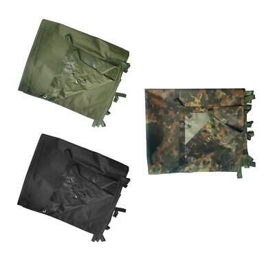 Mil-Tec Army Style Basha Waterproof Cover Ground Sheet Camping Cadet Airsoft