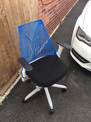 Herman Miller Sayl Blue Office Chair