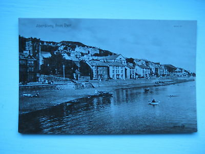 Nice Old  Postcard - Aberdovey From Pier