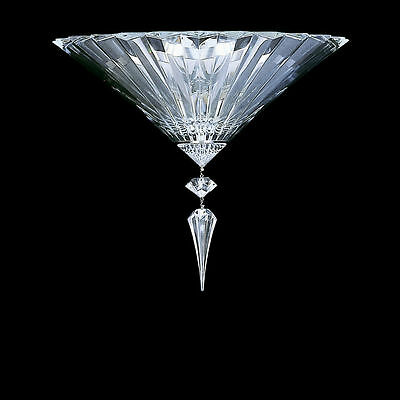 Baccarat Mille Nuits Clear Crystal 1L Wall Sconce Rrp £4,020 / $5,720