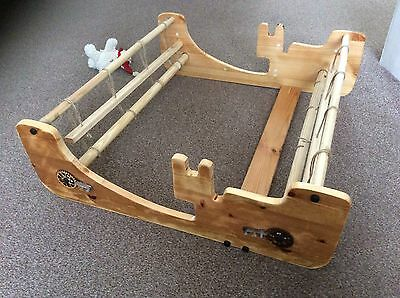 """25"""" Rigged Heddle Weaving Loom"""