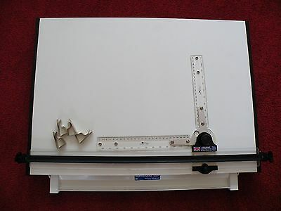A2 Trueline Sherbourne Drawing Board with Drafting Head