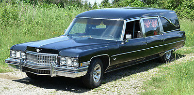 1973 Cadillac Other  1973 Cadillac Hearse - Waking The Dead with Phoenix Gold Sound System