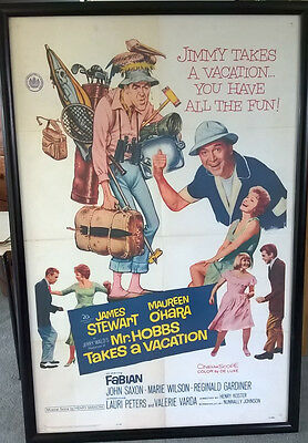 Mr Hobbs takes a Vacation original US one sheet poster