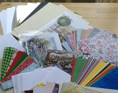 Craft Clearout for Card Making & Scrapbooking, Papers, cards and envelopes
