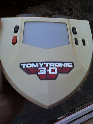 Tomytronic 3D vintage Toy 80's Thundering Turbos Game Fully Working