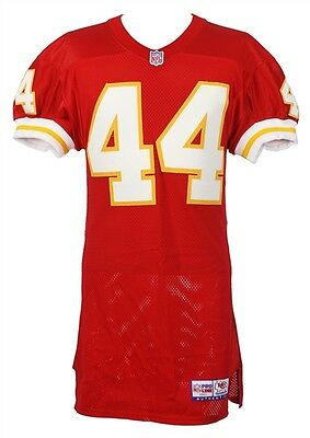 1997 Darren Anderson Kansas City Chiefs Game Worn Home Jersey (MEARS LOA)