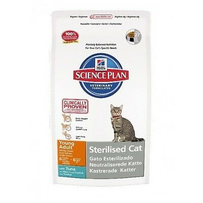 Hill's Science Plan Feline Young Adult Sterilized Cat Atún  Saco de 3 5 Kg