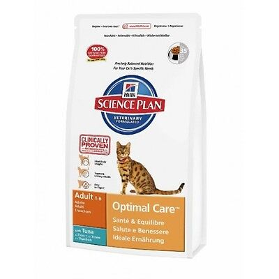 Hill's Science Plan Feline Adult Optimal Care Atún  Saco de 5 Kg