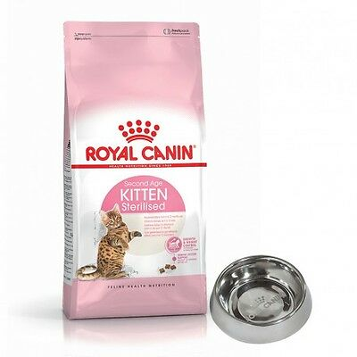 Royal Canin Feline Health Nutrition Kitten Sterilised Saco de 2 Kg