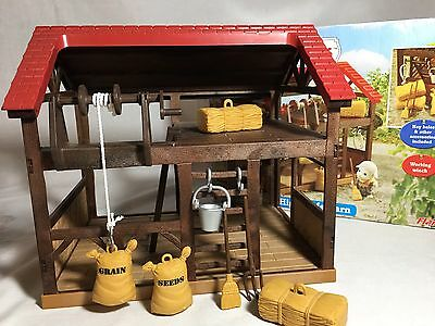 Calico Critters/sylvanian Families Highfields Barn With Battered Box