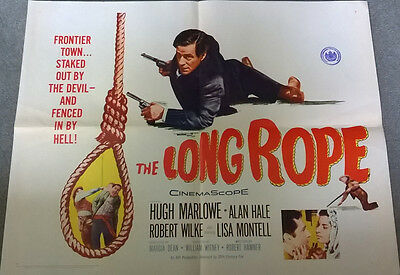 The Long Rope Original US half sheet poster