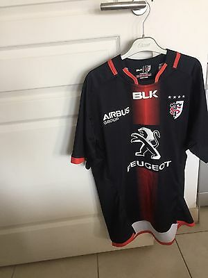 Maillot de rugby BLK stade toulousain 2015/2016 taille L