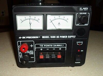 B & K PERCISION DC Power Supply Model 1686 PLEASE READ