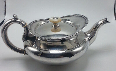 Russian All Silver Teapot