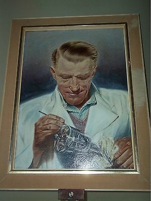 20th Century  Oil Painting Portrait Of a Man engraving Jewls