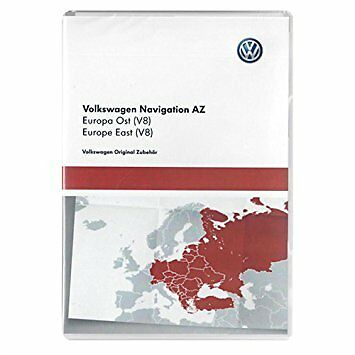 VW RNS 315 Navigation map SD card EAST Europe V8 NEWEST Skoda Seat