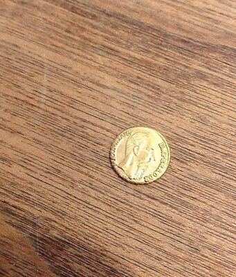 Maximillian 1865 Gold Coin Emperador Mexicano