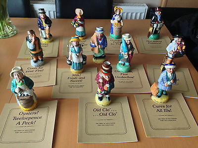 Toby Jug Collection - 'The Cries of Old London'