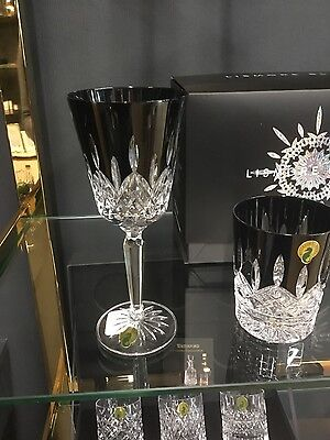 Waterford Lismore Black Tall Goblet (Set of 2