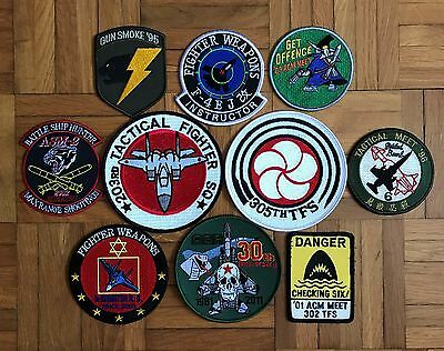 Air Force, Patch Lot, Various, Japanese Self Defense Force