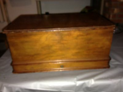 wheeler and wilson Treadle Sewing Machine Top Cover Only