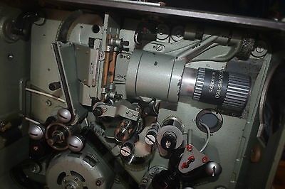 35Mm Sound Portable Film Projector Full Outfit With Feature/trasilers/rewinders