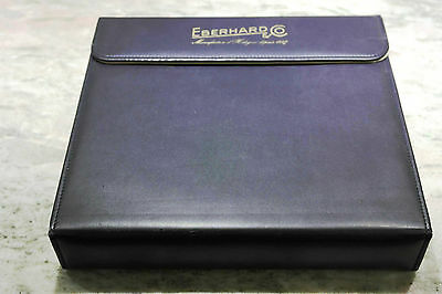 Eberhard & Co. vintage big box watches porta orologi 11 posti newoldstock