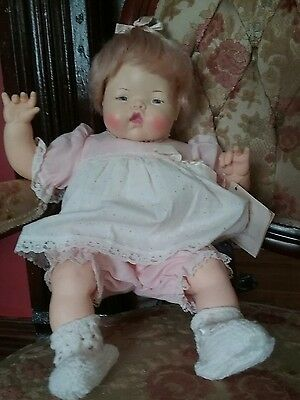 IDEAL Thumbelina Doll W/ Tag Excellent Vintage Condition