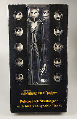 The Nightmare Before Christmas Deluxe Jack Skellington Action Figure Doll