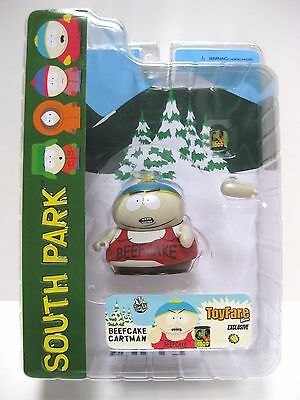 South Park BEEFCAKE CARTMAN Mezco Series 5  2007 ToyFare Exclusive Action Figure
