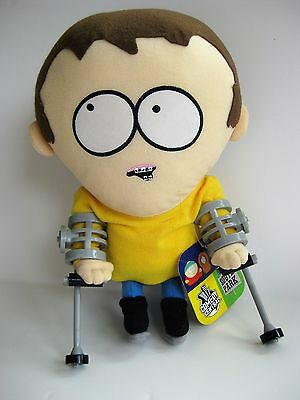 "South Park 2002 TALKING JIMMY  9"" doll toy figure with tag, Fun4All  EUC"