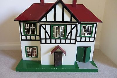 Vintage Dolls House - Triang - with original furniture