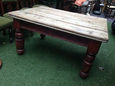 Victorian solid pine table