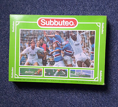 Subbuteo Table Soccer Game, Boxed, Contains Pitch, Nets, Balls, Players Etc