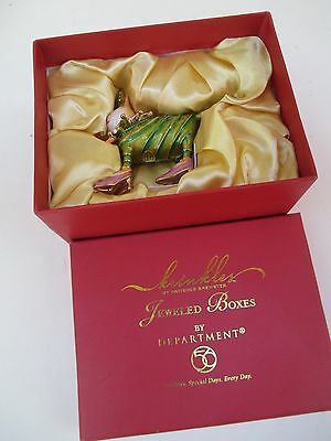 Patience Brewster..krinkles Jester Cat..jeweled Box..department 56......5256