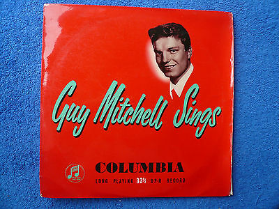 "Guy Mitchell Sings - 10"" LP. Purchased new by present owner..."