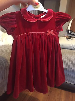 Next Baby party dress 9-12 months