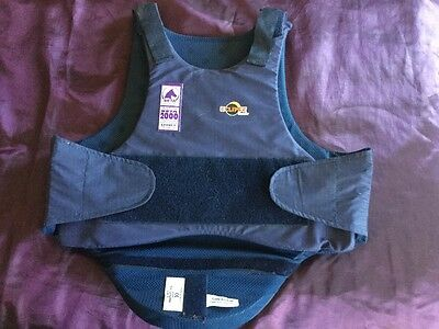 Child's BETA 2000 LEVEL 3 Horse / Equestrian Body Protector Vest size x/large