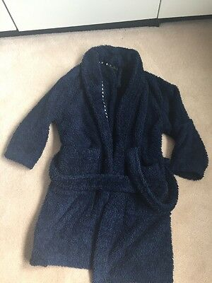 Boys Navy Dressing Gown From Next Age 6