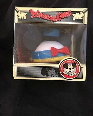 Disney MouseKeEars DONALD DUCK Mickey Ears Mini Hat Collectible NIB