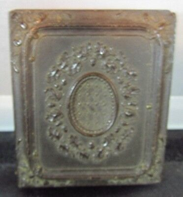 Antique Ambrotype of Man With Beard In Gutta Percha Case