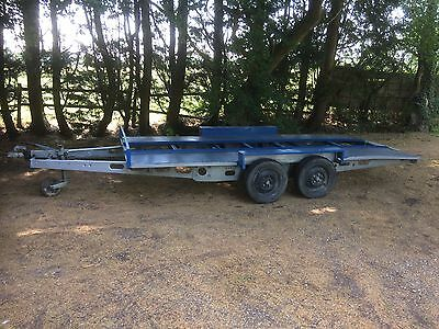 Transporter Classic Car Trailer Twin Axial Braked