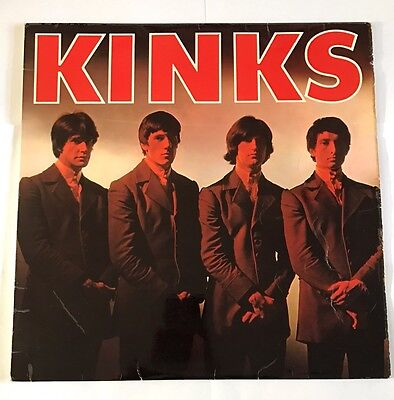 The Kinks Original Self Titled 1st Lp Pye Mono 1964!!
