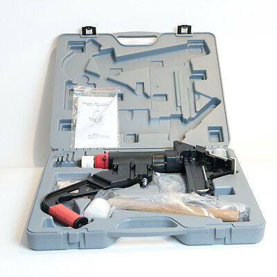 2-in-1 Hardwood Flooring Stapler & Nailer Floor nailer with case floor gun
