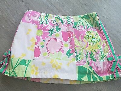 Lilly Pulitzer  skirt/skorts bright floral size 3T