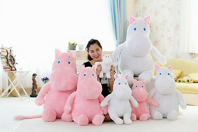 NEW Pretty Moomin Stuffed Plush Doll Park Bom Plush Toy Kids Girlfriend Pillow