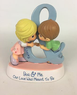 "Precious Moments ""You and me our love was meant to be"" Figurine"