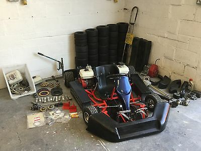 Honda Twin Engine Pro Kart and Spare Parts