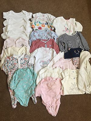 Bundle Of Baby Girls Clothes Age 0-3 Months - NEXT, JL, M&S & Others